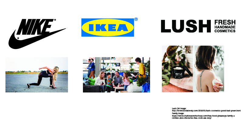 nike ikea and lushcore audience