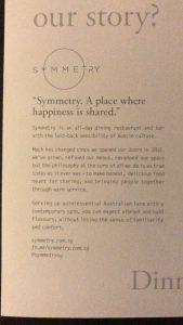 symmetry brand story