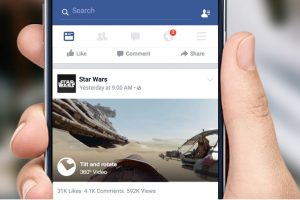 360 Facebook Post by Star Wars