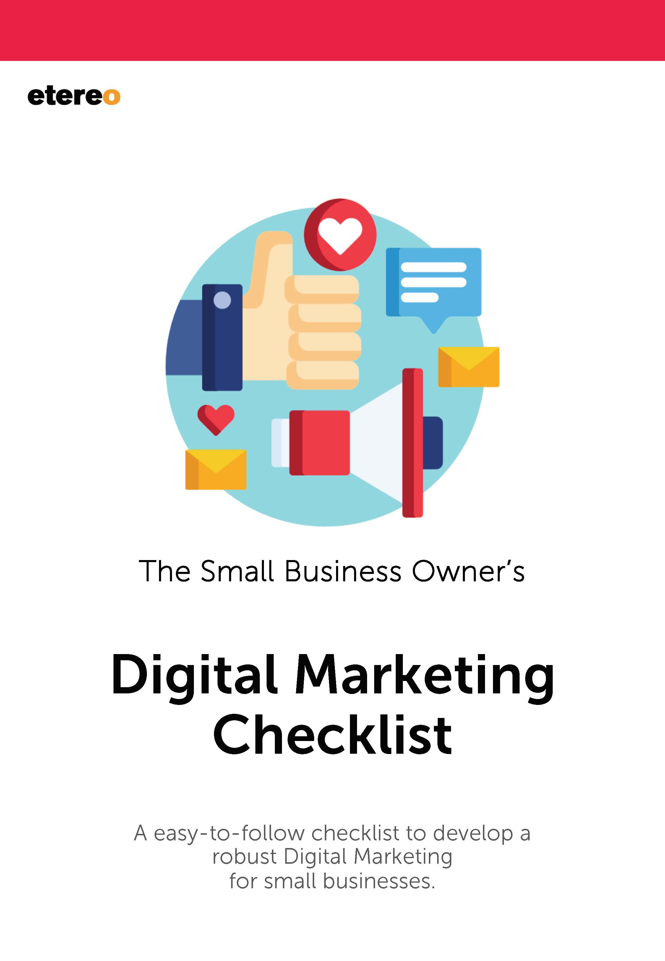 The Small Business Owner Digital Marketing Checklist
