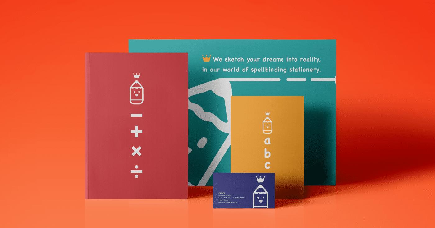 Kingdex-stationery-design
