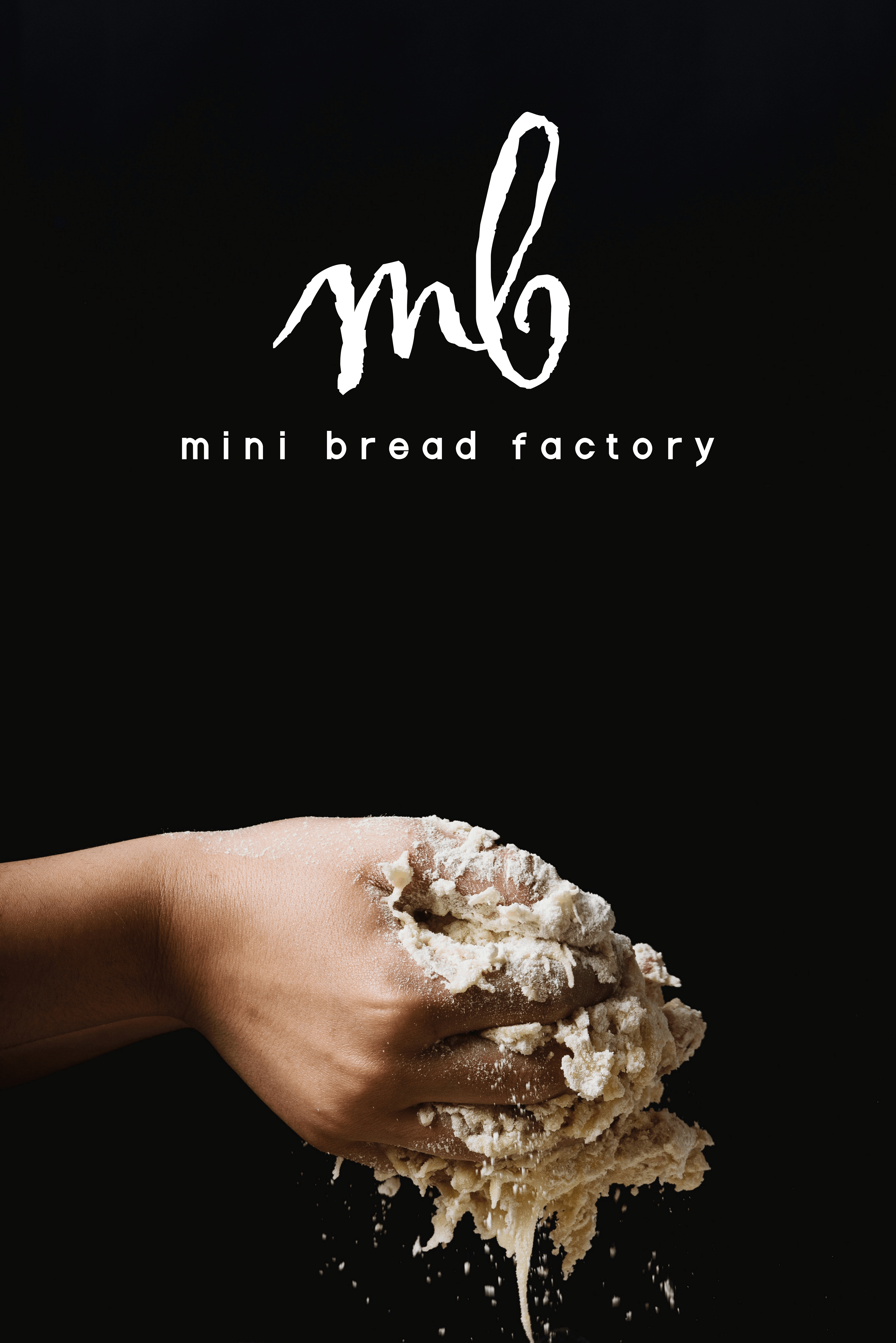 mini bread factory brand banner