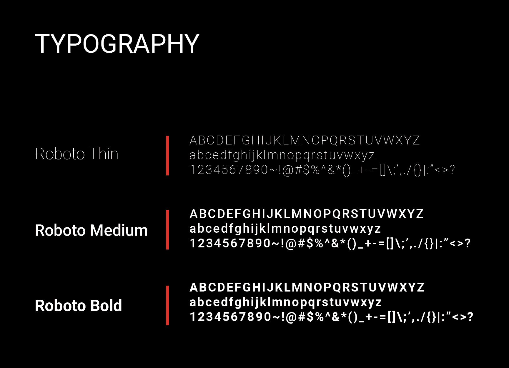SGS brand typography